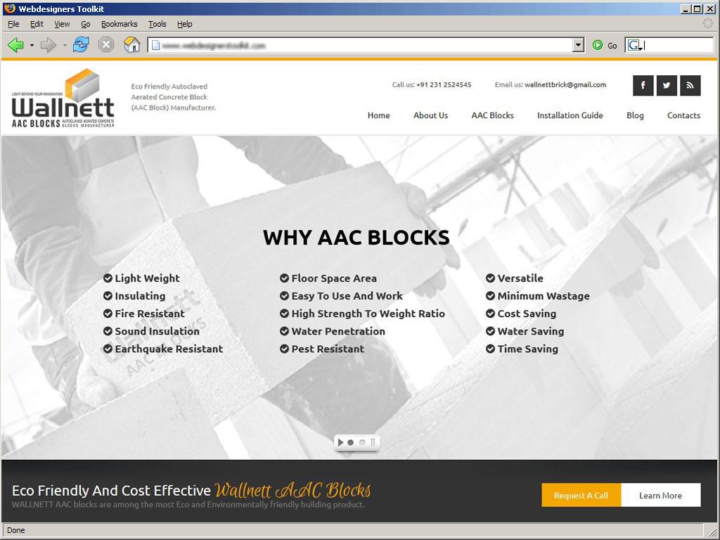 Wallnett AAC Blocks Manufacturers in Maharashtra, Karnataka