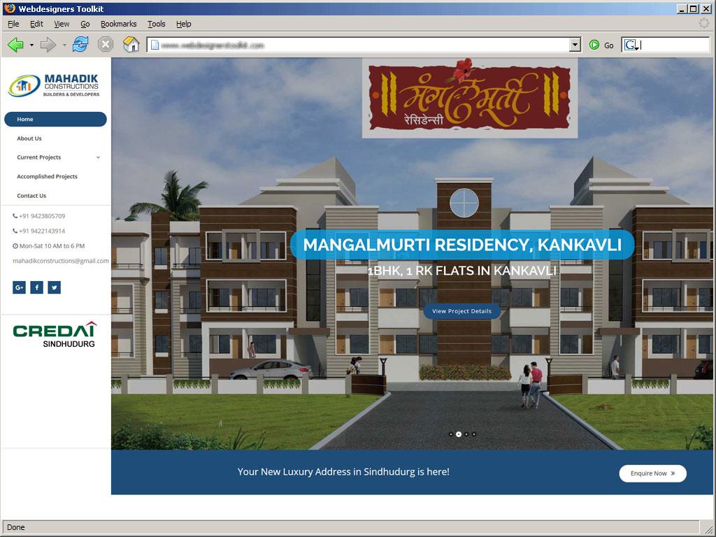 Mahadik Constructions - Builders and Developers in Talere, Kankavli, Sindhudurg
