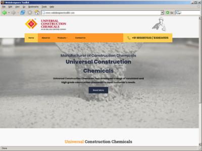 Universal Construction Chemicals : Manufacturer of Construction Chemicals