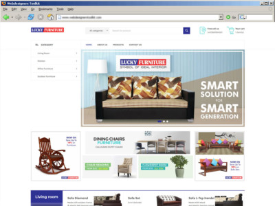 Lucky Furniture : Manufacturer of Solid Wood Furnitures